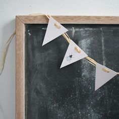for the bunting at the registration table