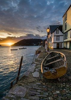 "crescentmoon06: "" Bayards Cove in Dartmouth, Devon, """