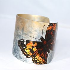 Painted Lady butterfly cuff £32.95