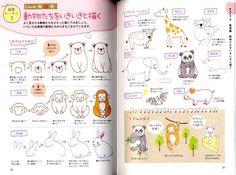 Mignonnes Illustrations avec des stylos à bille par pomadour24