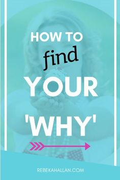How to Find Your Why (For Your Online + Blog Business) | Business is about helping people. But at the same time it is so much more than that.