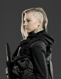 Hungergames Nathalie Dormer as Cressida in