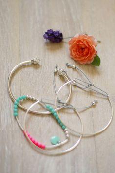 Bracelets pour faire durer l'été {DIY