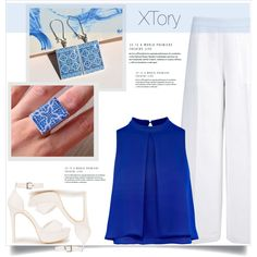 XTory 5 by amra-mak on Polyvore featuring polyvore, fashion, style, Joseph, Nly Shoes, clothing and XTory