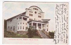 Chautauqua Building Mineral Wells Texas 1905c Postcard | eBay
