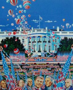 "Limited Edition Print ""U. S. Constitution 1987"" by Hiro Yamagata"