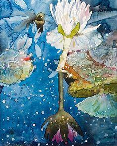 Joseph Raffael - Lily Pond Glistening