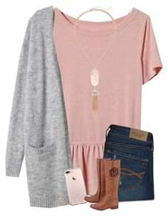 """""""got a new phone!! ❤️"""" by morganmestan ❤ liked on Polyvore featuring Banana Republic, Abercrombie & Fitch and Kendra Scott"""