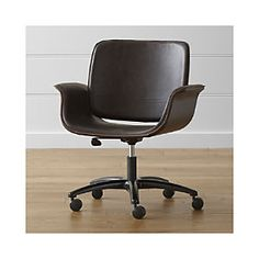 Hughes Leather Office Chair