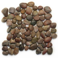Solistone Anatolia Pebbles 10-Pack Agate Mosaic Floor Tile (Common: 12-in x 12-in; Actual: 12-in x 12-in)