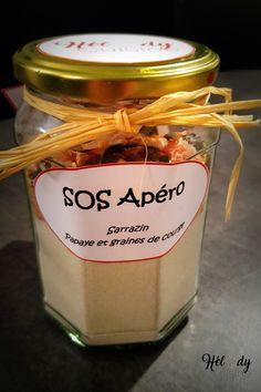 Jar Gifts, Food Gifts, Kit Cookies, Sos Recipe, Tapas, Food Hampers, Diy Food, Food Videos, Candle Jars