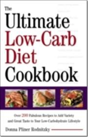 Ultimate Low-Carb Diet Cookbook af Donna Pliner Rodnitzky, ISBN 9780307755483