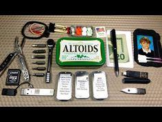 Urban Altoids EDC Tin (v2.2) - YouTube