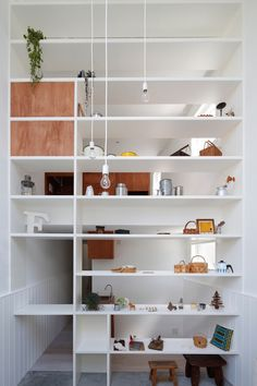 FIKA by ON Design Partners, Tokyo   Yellowtrace. Small home and shop in one.