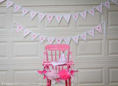 Pinwheels and PomPoms First Birthday Bash   CatchMyParty.com
