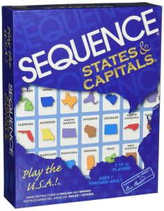 Amazon.com: Jax Sequence States and Capitals: Toys & Games