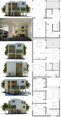 Minimalist House Plans Floor Plans modern minimalist house plan | house plans, contemporary modern