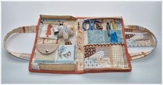 costurero patchwork This duvet – workout routines carries a minuscule rinse leading along with face Coin Couture, Needle Case, Needle Book, Sewing Case, Hand Sewing, Sewing Hacks, Sewing Projects, Sewing Kits, Bag Pattern Free