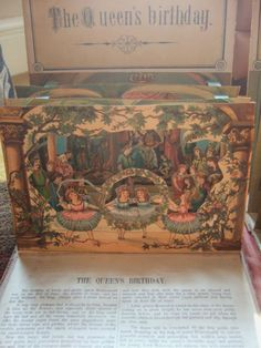 ANTIQUE VICTORIAN POP UP BOOK A NEW CHILDREN'S THEATRE BIRN BROTHERS 1880   eBay