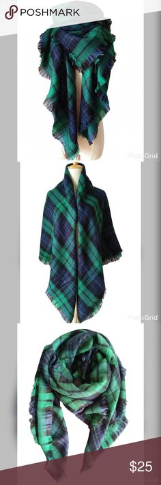 Blanket scarf NWOT blanket scarf not from listed brand offers welcomed Zara Accessories Scarves & Wraps