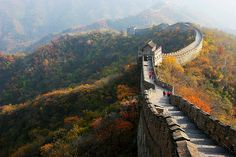 I've been lucky enough to travel to the Great Wall twice. It's definitely one of the most amazing things to see.