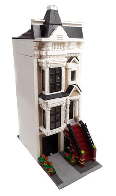 San Francisco Stick Style House - 1 - Lego Modular Buildin… | Flickr