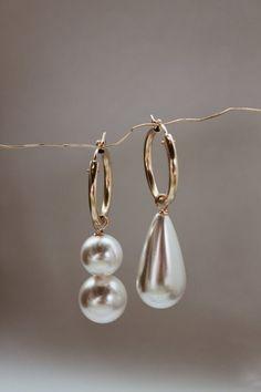 Arcilla Mismatched Hoops - Beck Jewels