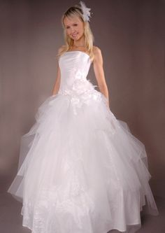 Brautkleid corsage bh