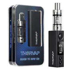 Electronic Cigarette Kit Vapor Pen 80W USB Rechargeable OLED Powerful E Shisha