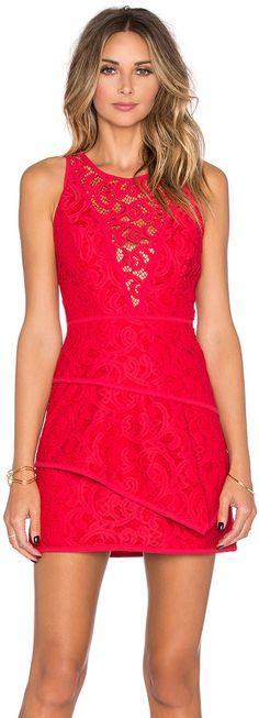 BCBGMAXAZRIA Hanah Lace Dress