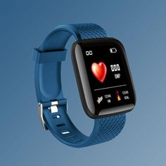 Smart sports watch 20 features in one - Blue