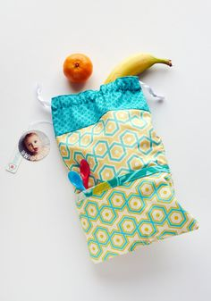Reversible Snack Pack Notting Hill Aquamarine and by WhoopsieKit