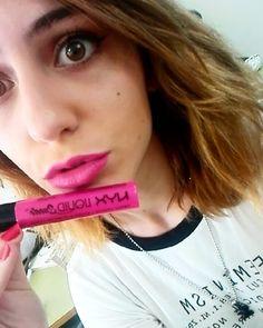 Enamorada de mi nuevo Liquid Suede by @nyx_es  en el tono Pink Lust/Passion Rose (08)  Me lo compre el miercoles en la inauguración de #NYXportal  #beautyblogger #liquidsuede #nyxcosmetics #nyx #makeup #beauty #makeupsrtist #matelipstick #matte #mate #blogger #makeupblogger #pink #passionrose #pinklust #follow #followme #likes #tfl #love #daily #igers #makeupjunkie #lipstick #pinklipstickday #pinklips by makeupbydreia
