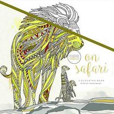 Kaisercraft Kleurboek voor Volwassenen - On Safari