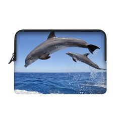 "Dolphins in Sky Sleeve for 13"" MacBook Air"