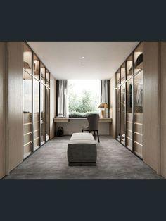 Walk In Closet Design, Bedroom Closet Design, Wardrobe Design, Closet Designs, Bedroom Decor, Casa Kardashian, Wardrobe Room, Luxury Closet, Luxury Wardrobe