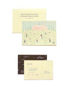 Wedding Invitations by Monica Ramos
