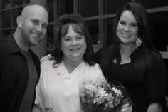 Jarrod, Mom (me) and Madison Graduation from nursing school