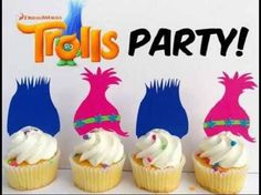 trolls party ideas - Pesquisa Google