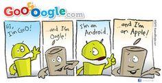 Goo and Oogle web comic strip