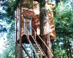 Raven Loft is a small, sustainable treehouse home in BC, Canada.