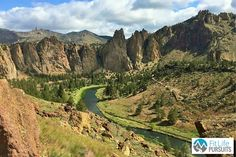 Smith Rock State Park. The benefits of nature