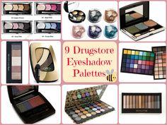 9 Drugstore Eye Shadow Palettes