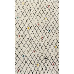 Found it at Wayfair - Nomad Ivory Area Rug
