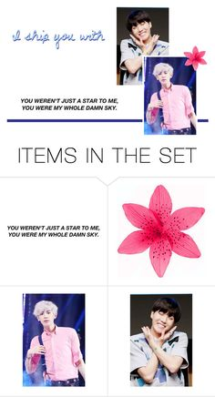 """""""Ship for Sammi!"""" by niamho99 ❤ liked on Polyvore featuring art, kpop, scroll_position, niamho99, niamhoships, otp, shipit and chairahforever"""