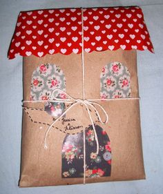 a little house gift wrap