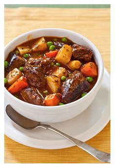 Wintertime Slow Cooker Beef Stew with Ciabatta | CHEFS Mix
