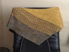 Emiliana by Lisa Hannes ¬ malabrigo Sock in Primavera and Ochre