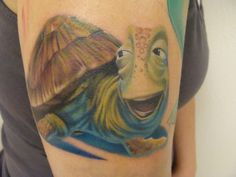 crush and squirt finding nemo tattoo - Google Search