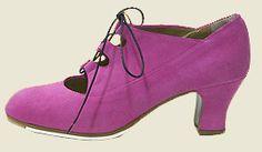 Zapato Flamenco Modelo Antiguo
